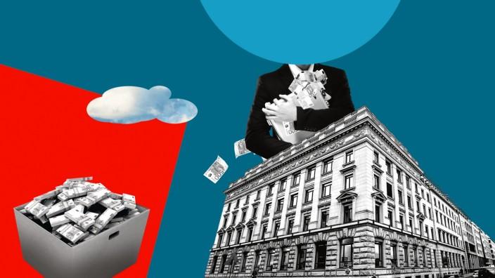 Wirecard: Illustration: Stefan Dimitrov