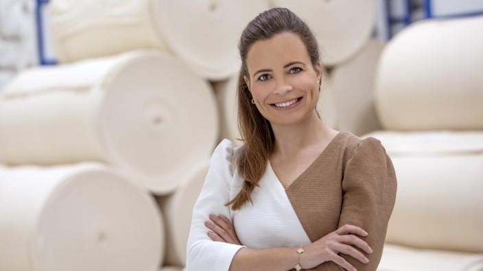 Montagsinterview: Bonita Grupp, Tochter von Trigema-Chef Wolfgang Grupp, ist bereit, das Textilunternehmen in nächster Generation zu leiten. Entschieden ist die Führungsfrage aber noch nicht.