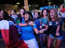 Photo Mauro Scrobogna /LaPresse July 11, 2021& xa0; Rome, Italy Soccer EURO 2020 - Italy Vs England final In the photo: