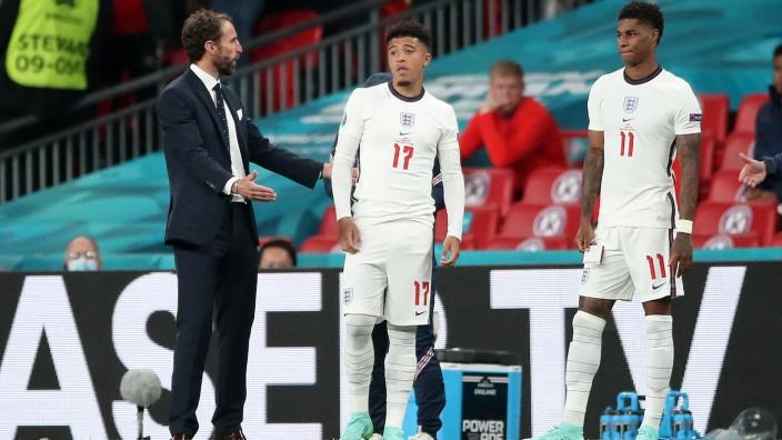 Italy v England - UEFA EURO, EM, Europameisterschaft,Fussball 2020 Final - Wembley Stadium England manager Gareth South