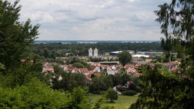 Immobilienpreise in Freising: Vom Weihenstephaner Berg aus, eine der gefragtesten Wohnlagen in Freising, hat man einen schönen Blick über die Stadt.
