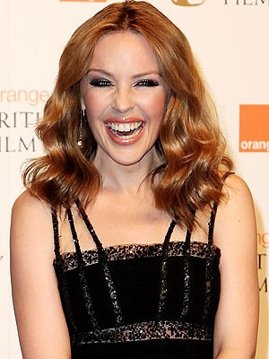 Kylie Minogue; Getty Images