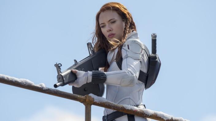 """Kino und Corona: 20 Millionen Dollar Gage hat Scarlett Johansson für """"Black Widow"""" von Disney bekommen."""