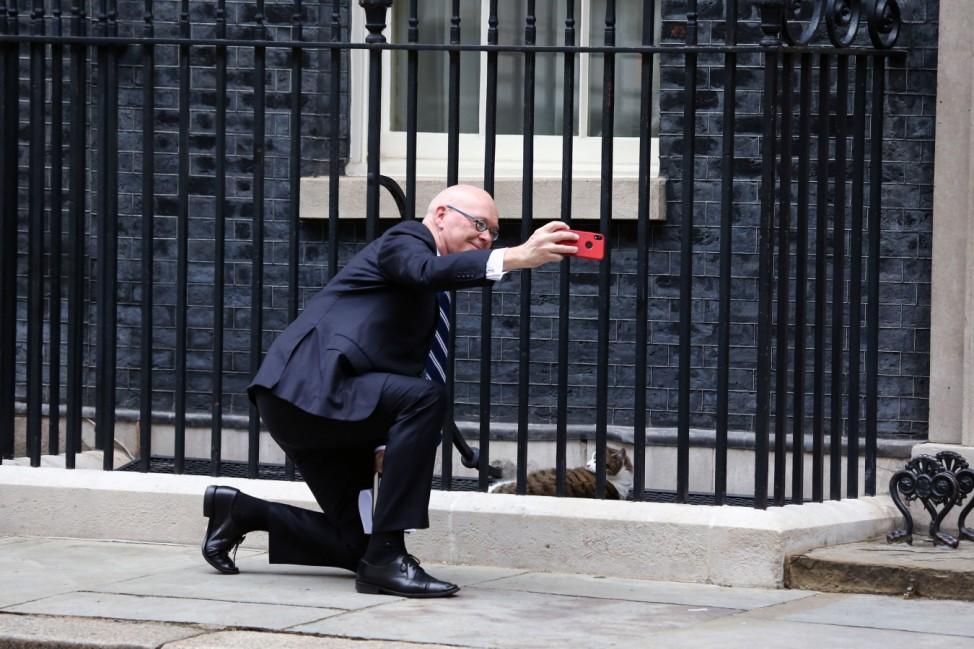 Neuseelands Außenminister Seed zu Besuch in Großbritannien