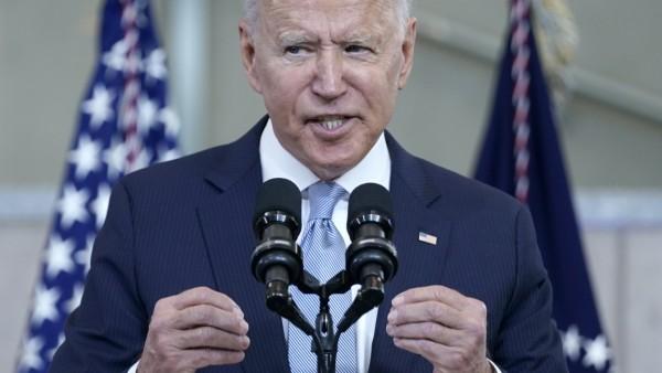 """USA: Joe Biden spricht in Philadelphia zum Thema """"Wahlrecht"""""""
