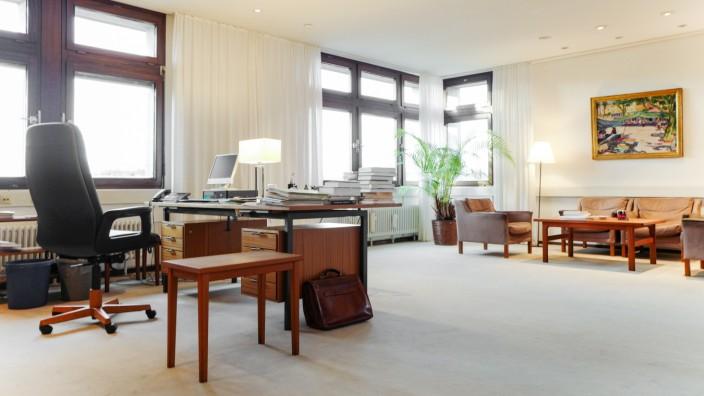 Büro von Bernd Huber an der LMU in München, 2019