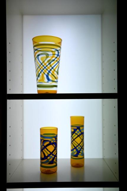 Altes Handwerk: Besonders stolz ist Frank Liebmann auf seine bunten Vasen.