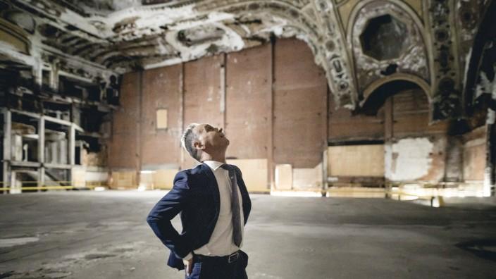 Bundesaussenminister Heiko Maas, SPD, besucht das Michigan Theatre in Detroit. Detroit, 13.07.2021. Detroit Vereinigte