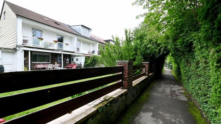 Siedlung Ramersdorf.Stethaimerstrasse.
