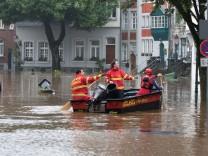 Nordrhein-Westfalen: Zwei Feuerwehrmänner sterben im Einsatz