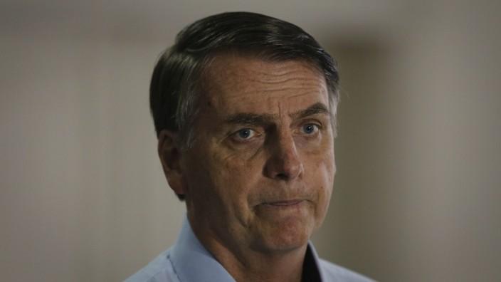 November 16, 2018 - Rio de Janeiro, Brasil - 16/11/2018 Presidente Eleito Jair Messias Bolsonaro concede uma coletiva n