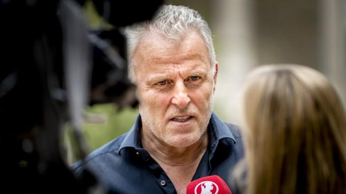 Der niederländische Reporter Peter R. de Vries im Jahr 2017