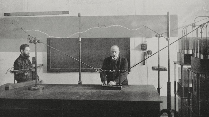 Augusto Righi, on atmospheric electricity