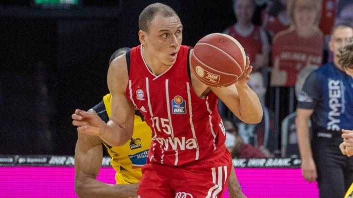 Bayerns 15 Robin AMAIZE. Basketball, Bayern - Ludwigsburg, BBL-Playoff, Halbfinale, 4.Spiel, Saison 2020-2021, am 4.6.20