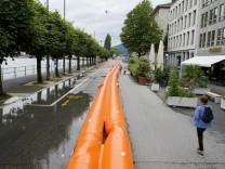 Hochwasser in der Schweiz: Luzern wartet auf die Katastrophe