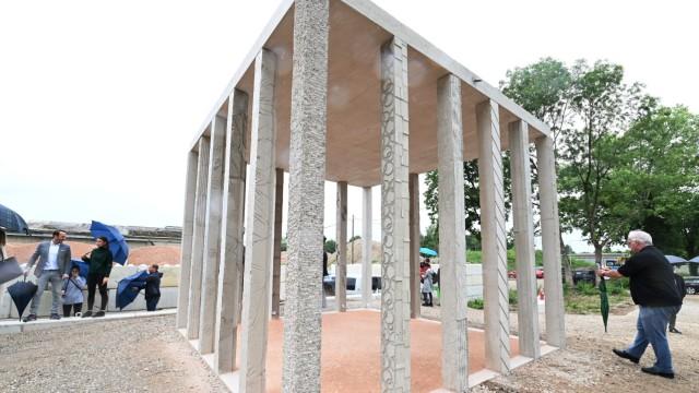 Musterpavillion Recycling Beton