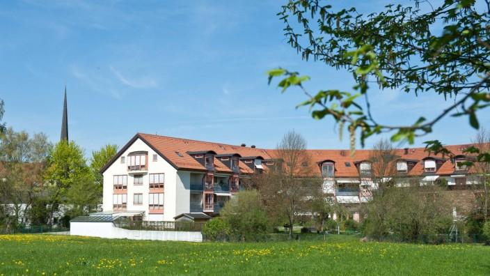 Altenheim am Hans-Eham-Platz: Das Seniorenhaus am Hans-Eham-Platz soll erweitert werden, die Stadt Grafing wird dazu einen Zuschuss von 500 000 Euro geben