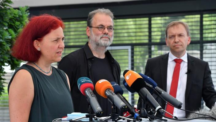 Fraktionschefs zu geplanter Landtagsauflösung in Thüringen