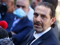 Saad al-Hariri wird nun nicht Premier Libanons, er konnte sich mit Staatspräsident Michel Aoun nicht einigen.