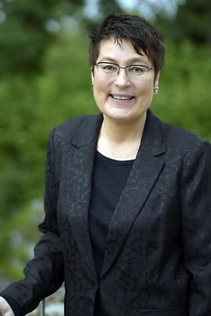 Oberhaching: Bescheiden und eigentlich fotoscheu: Eva Hofmann.