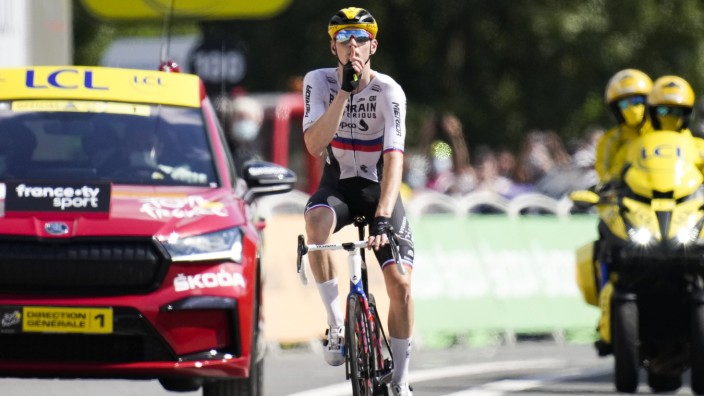 Tour de France: Matej Mohoric deutet Schweigen an - in Richtung Kritiker und Ermittlern?