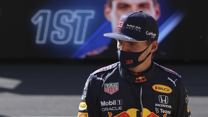 Formel 1 in Silverstone: Max Verstappen geht in Silverstone als Erster ins Rennen.