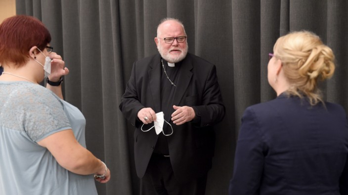 Statement zu Missbrauchsfällen in der Kirchengemeinde Garching, Reinhard Marx, Missbrauch, Herz-Jesu-Kirche in Garching
