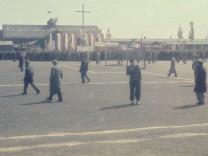 Fußball im KZ Dachau nach der Befreiung