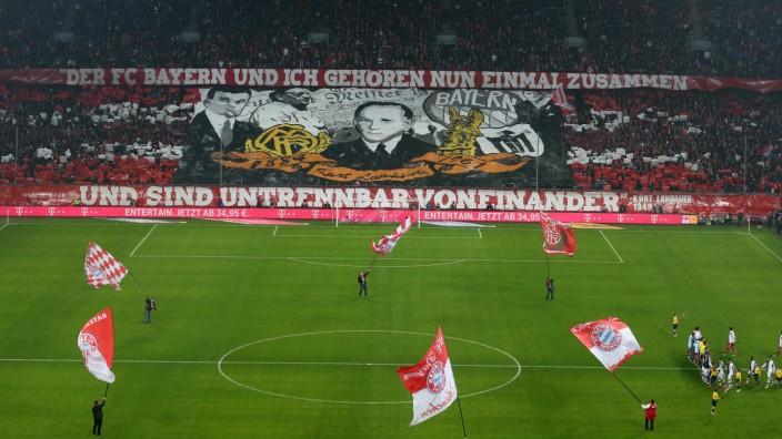 Fussball Bundesliga  FC Bayern München - Eintracht FRankfurt