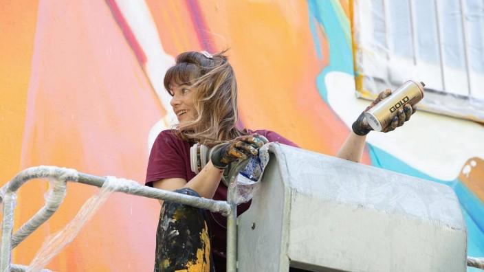 Städtische Galerie Rosenheim TRANSIT ART Festival 2021 Auftakt mit Künstlerin Julia Benz