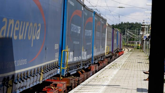 Zugverkehr Grafing Bahnhof