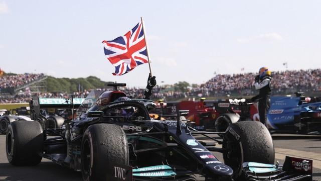 Formel 1: Lewis Hamilton feiert in Silverstone 2021