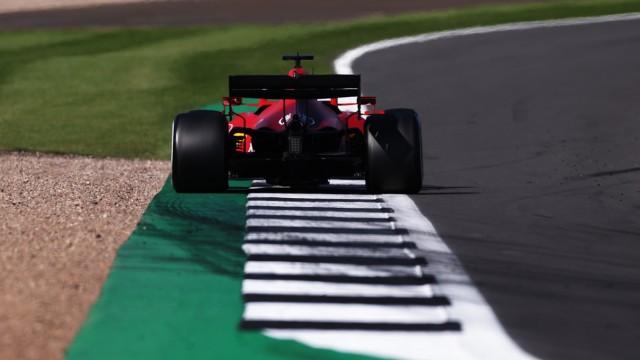 Formel 1: Charles Leclerc im Ferrari in Silverstone 2021