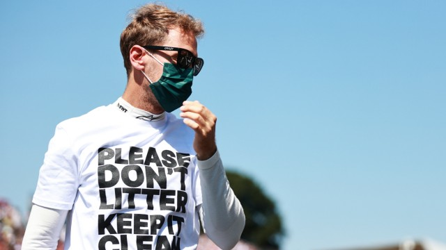 Formel 1: Sebastian Vettel in Silverstone 2021