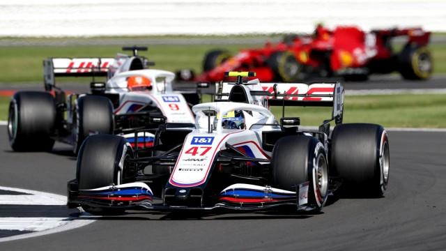 Formel 1: Mick Schumacher in Silverstone 2021 beim Grand Prix von Großbritannien