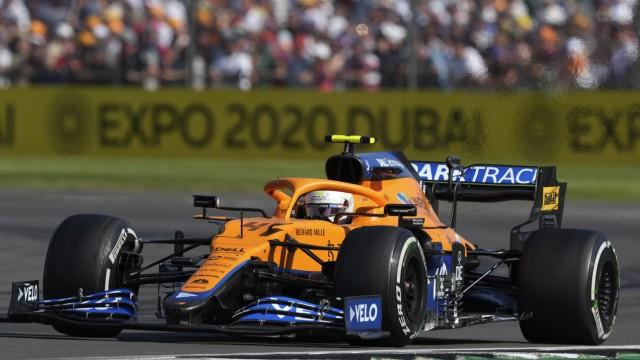 Formel 1: Lando Norris in Silverstone 2021