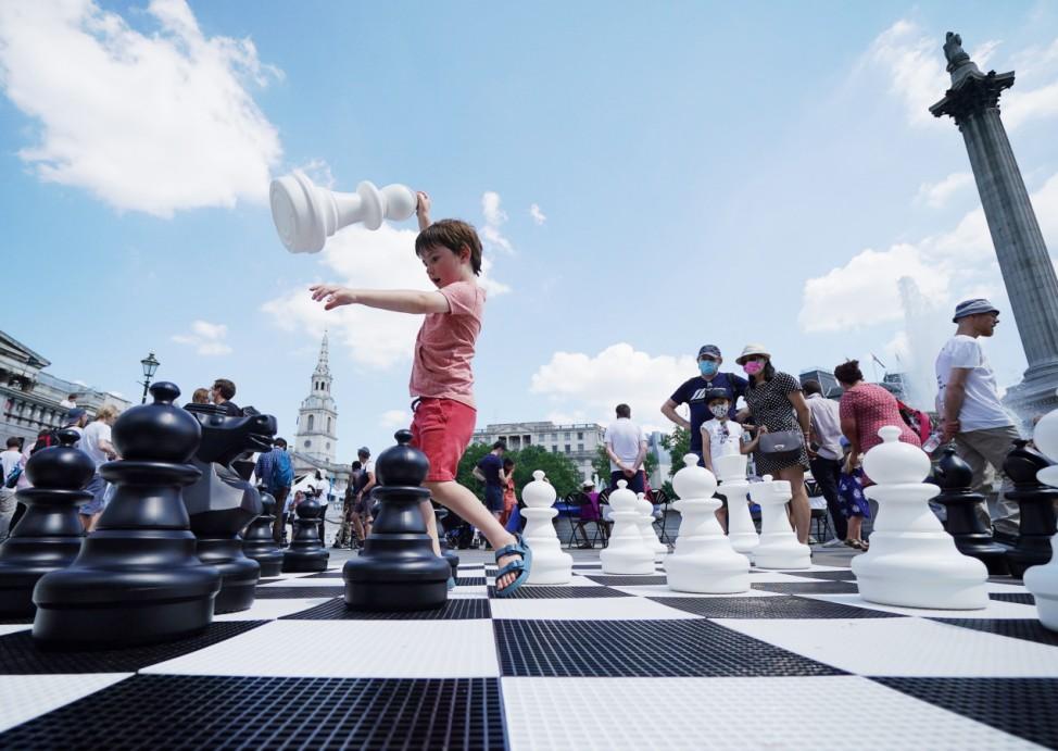 Schachfest in Großbritannien