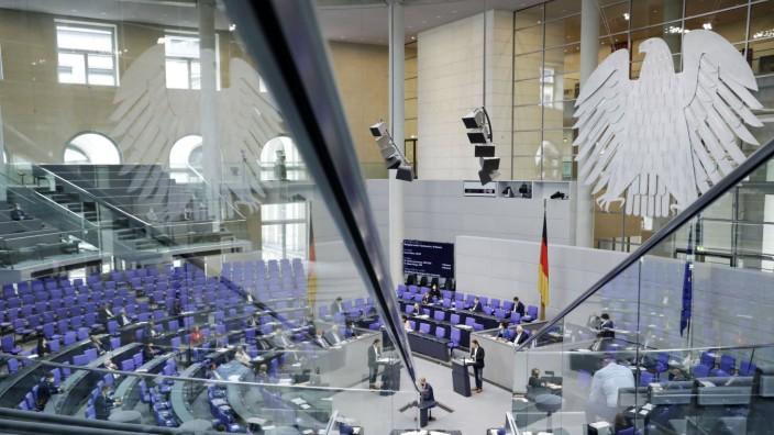 Der Plenarsaal der 236. Sitzung des Deutschen Bundestages im Reichstagsgebäude. Berlin, 24.06.2021 Foto:xS.xGabschx/xFut