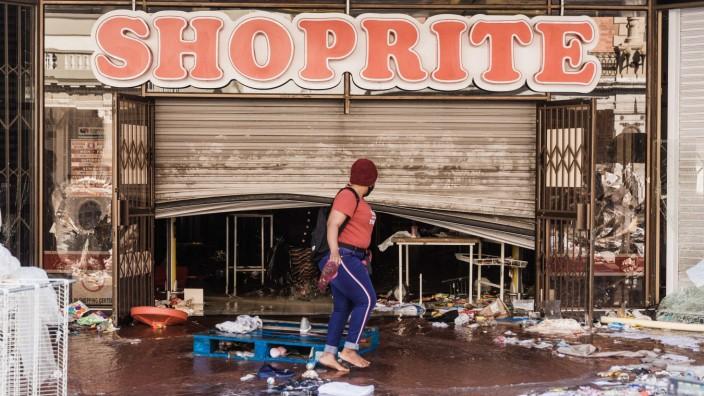 Durban nach den Plünderungen