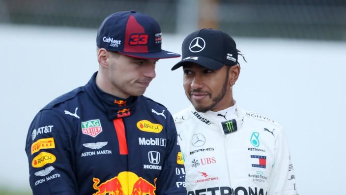 Hamilton und Verstappen