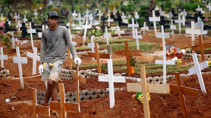 Corona-Pandemie in Bekasi, Jaja, Indonesien
