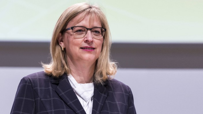 Hiltrud Dorothea Werner Vorstandsmitglied auf der VW Hauptversammlung am 14 05 2019 im City Cube i