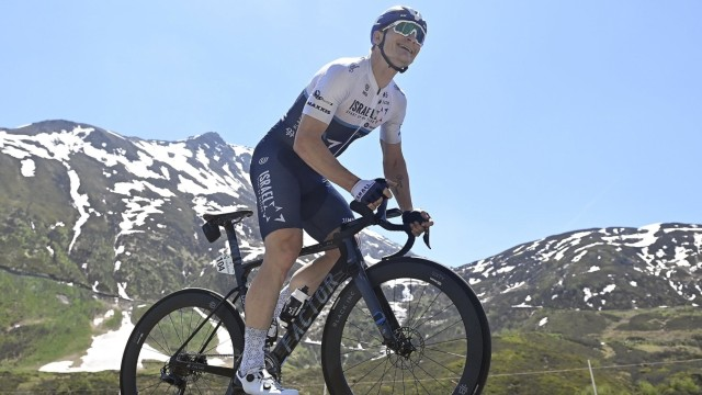 ANDERMATT, SWITZERLAND - JUNE 12 : GREIPEL Andre (GER) of ISRAEL START-UP NATION in action during stage 7 of the UCI Wor; Tour de France