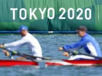 Vor den Olympischen Spielen in Tokio - Rudern