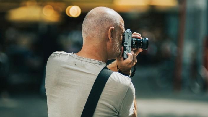 """Leica-Chef Harsch: Begehrtes Sammlerstück: Früher hießen Leica-Kameras noch """"Leitz"""". Der Markenname Leica ist die Abkürzung für Leitz(sche) Camera."""