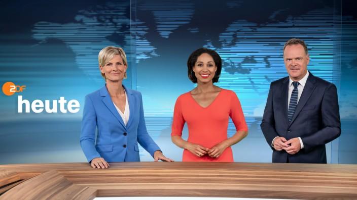 """ZDF-´heute"""" gestern und morgen"""