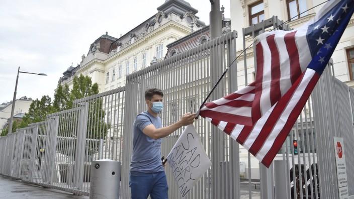 Havanna-Syndrom: Stecken feindliche Mächte hinter den Symptomen, oder sind sie vielleicht doch psychosomatisch? Gebäude der US-Botschaft in Wien.