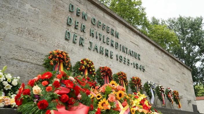 Gedenken an die Opfer des gescheiterten Attentats auf Hitler