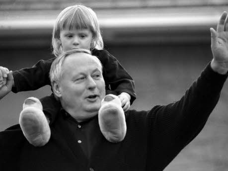 Oskar Lafontaine mit Sohn Carl-Maurice