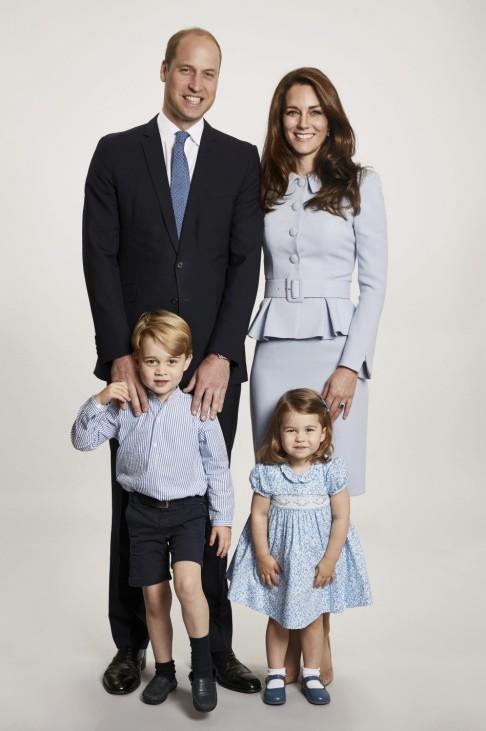 Weihnachtsgrüße von Prinz William und Kate